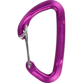 Climbing Technology Berry W Mosquetón, purple body